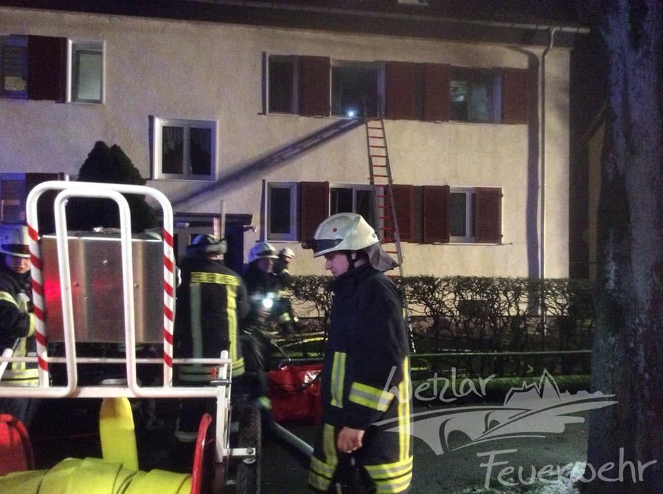 Wohnungsbrand Niedergirmes