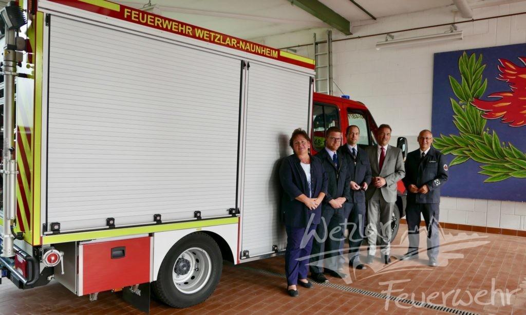 Naunheim stellt neues Löschfahrzeug in Dienst