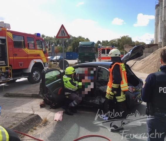 Verkehrsunfall B277 Hermannstein