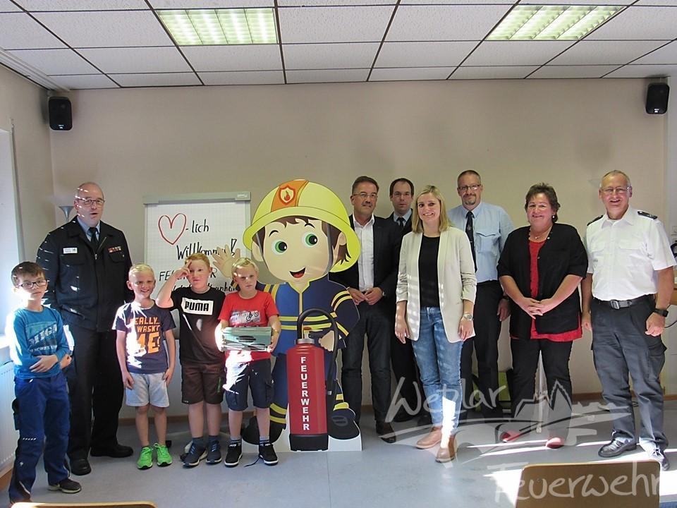 Kinderfeuerwehr in Naunheim gegründet