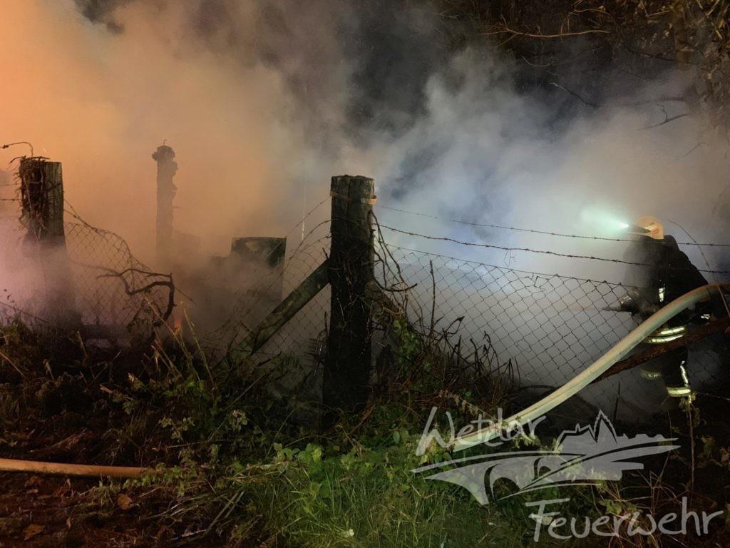 Unruhige Nacht für die Wetzlarer Feuerwehr