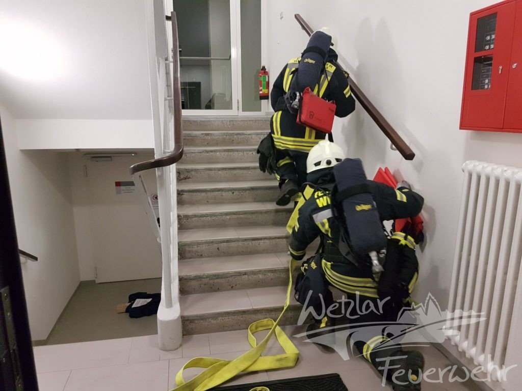 Evakuierungsübung der Feuerwehr Büblingshausen