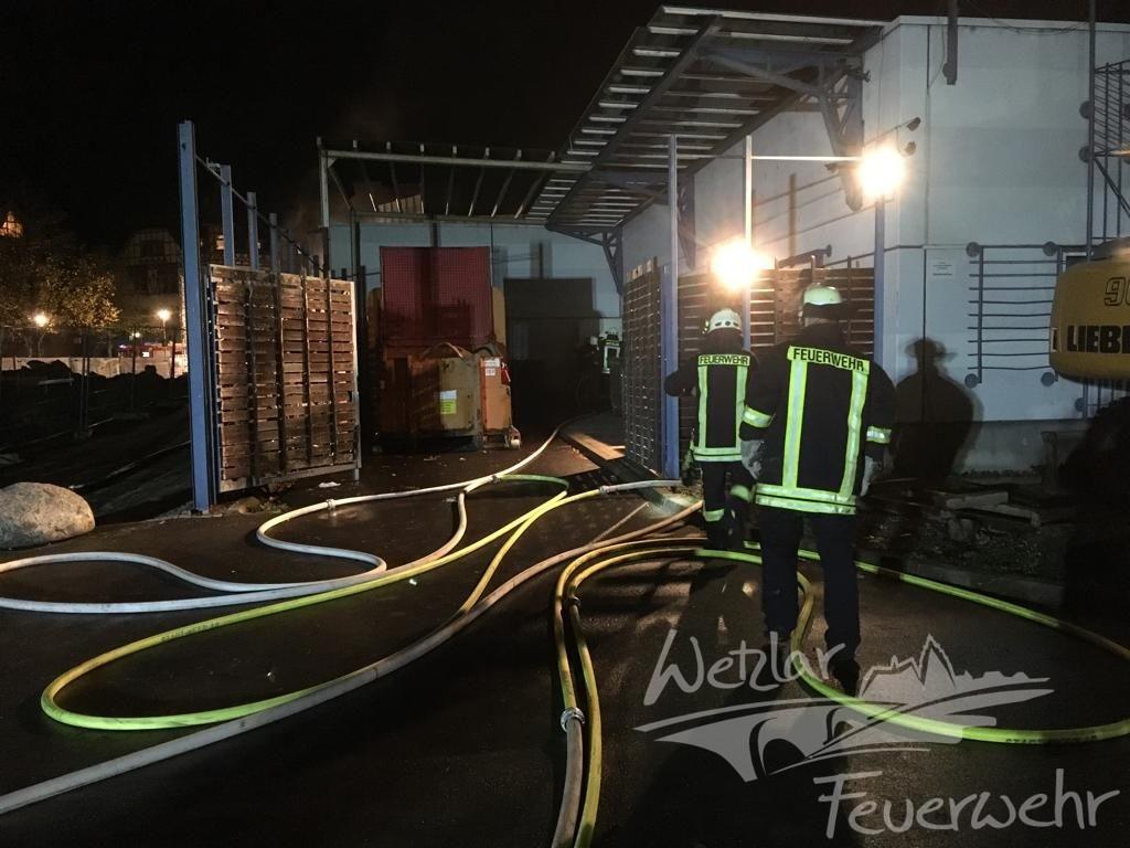 Übungszenario: Explosion im Lahnhof
