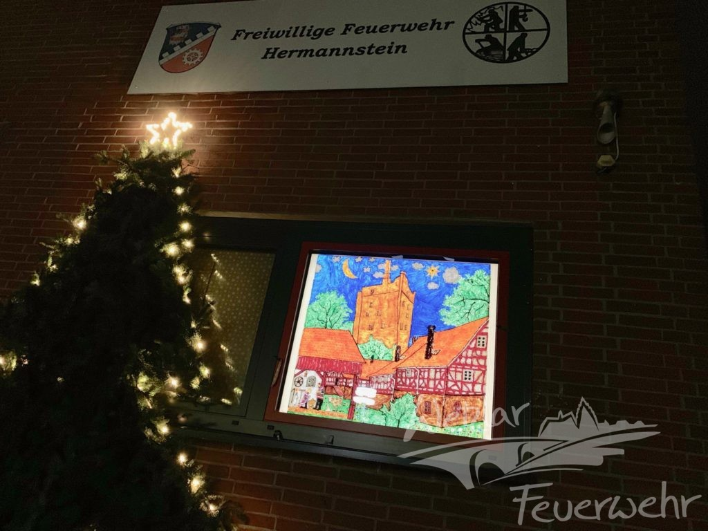 Lebendiger Adventskalender in Hermannstein
