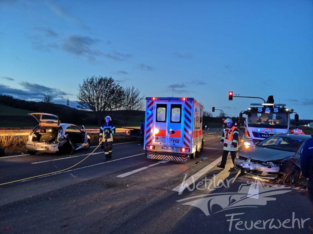 Schwerer Verkehrsunfall am Heiligen Abend
