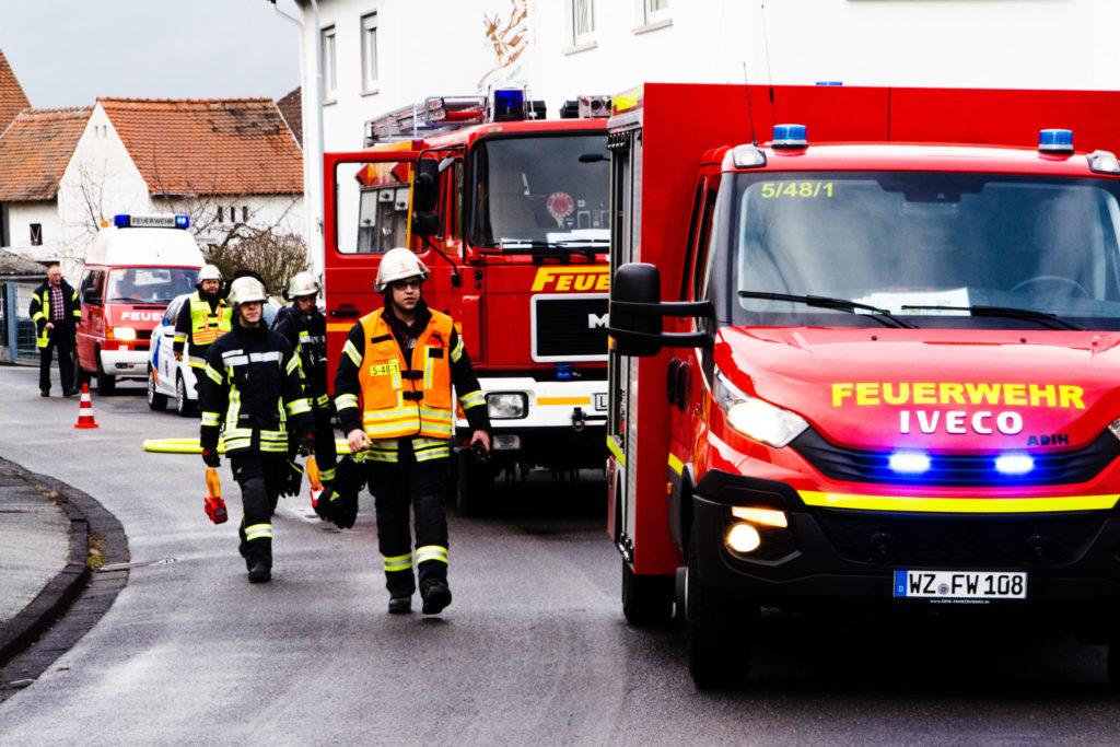 Gasaustritt in Dutenhofen