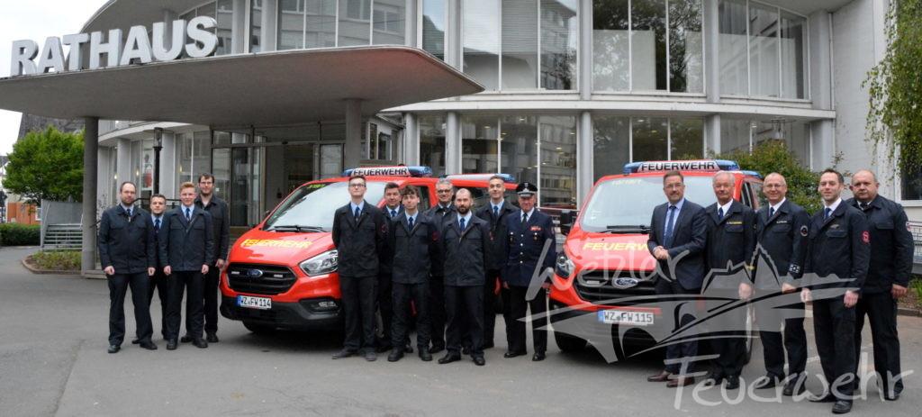 Neue Fahrzeuge für die Feuerwehr Wetzlar