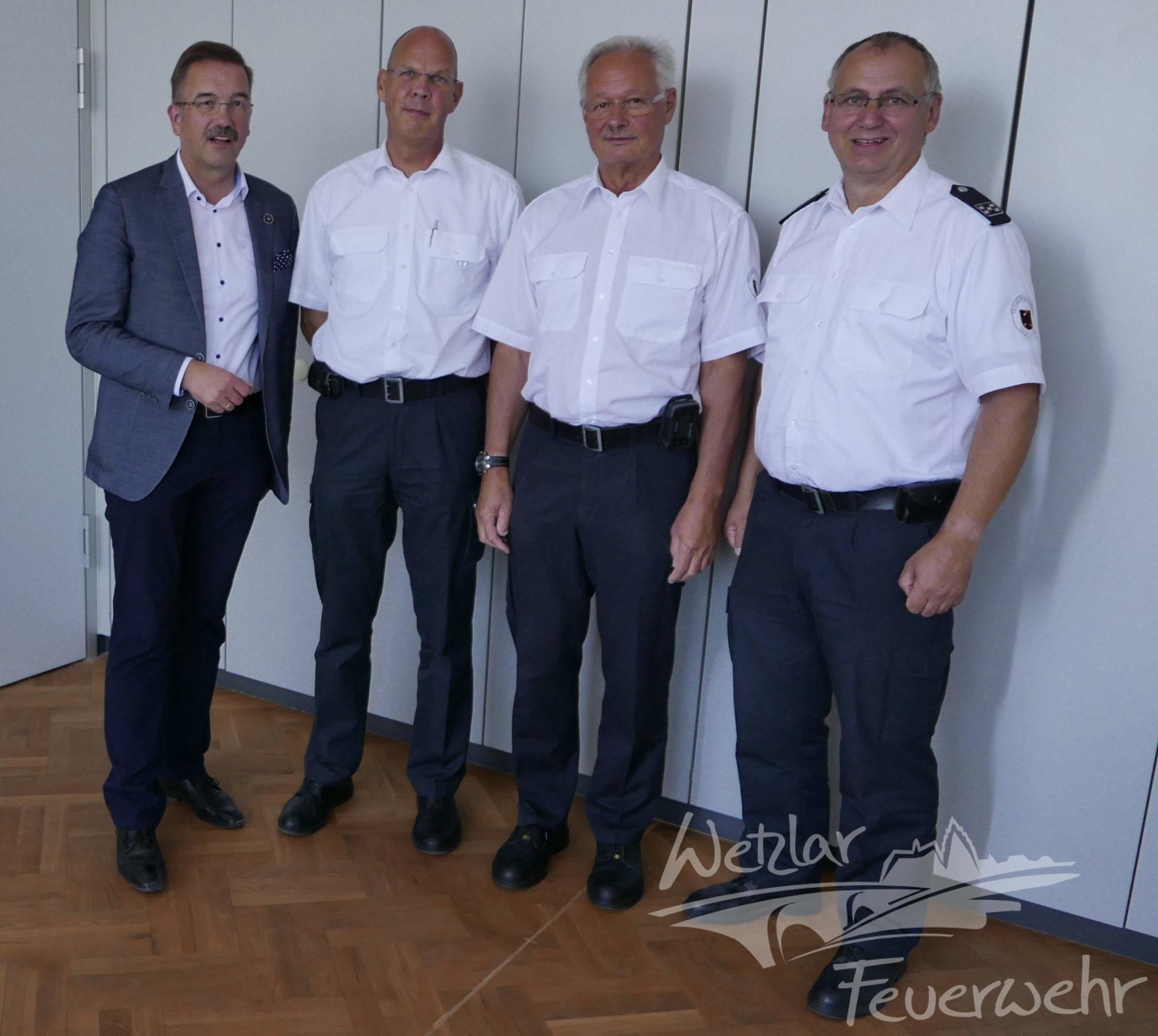 Die Feuerwehr Wetzlar hat einen neuen Stellvertretenden Leiter