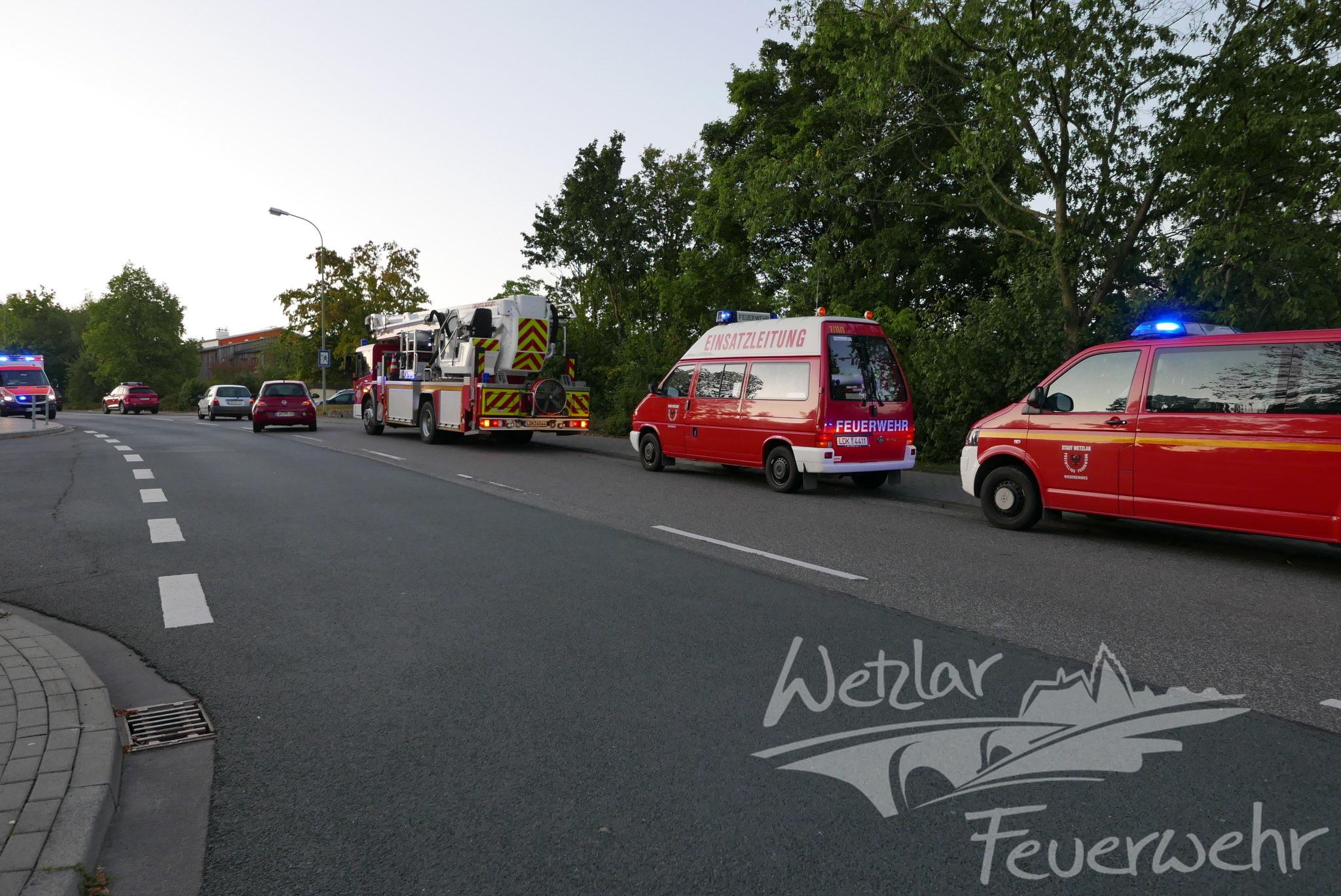 Feuer im Albert-Schweitzer-Kinderdorf