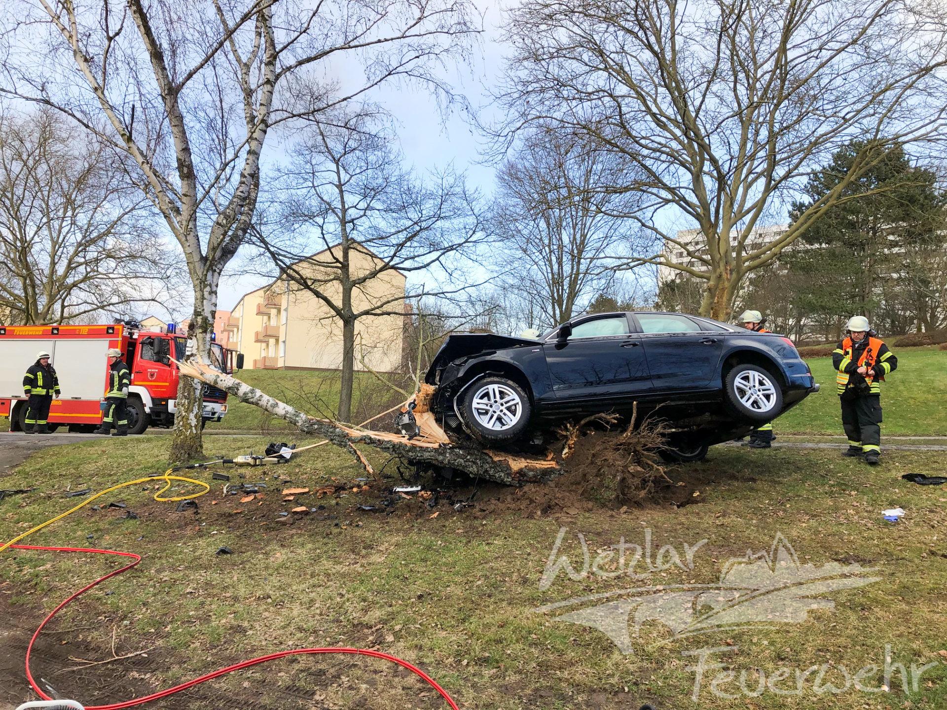 Schwerer Verkehrsunfall in Wetzlar