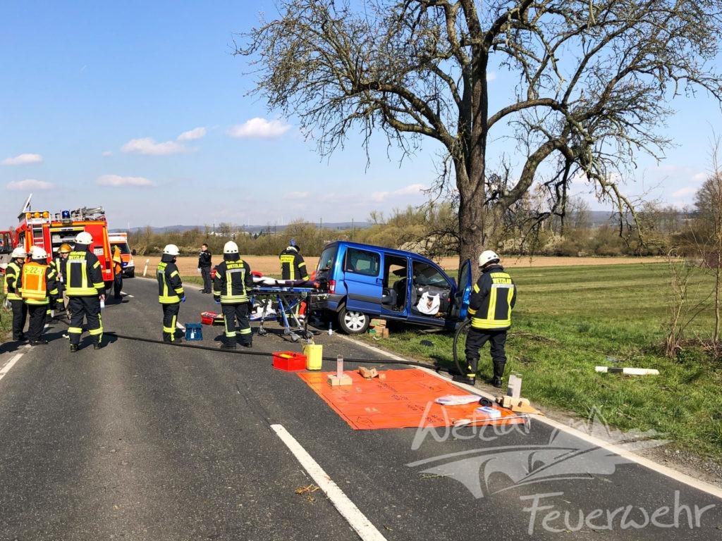 Verkehrsunfall in Dutenhofen