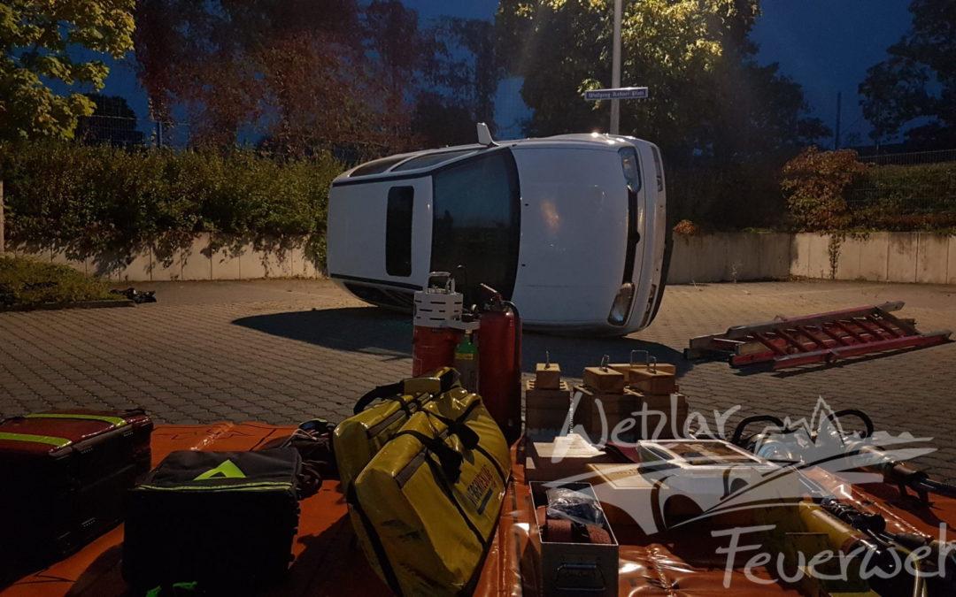 Technische Hilfeleistung wird in Büblingshausen geübt