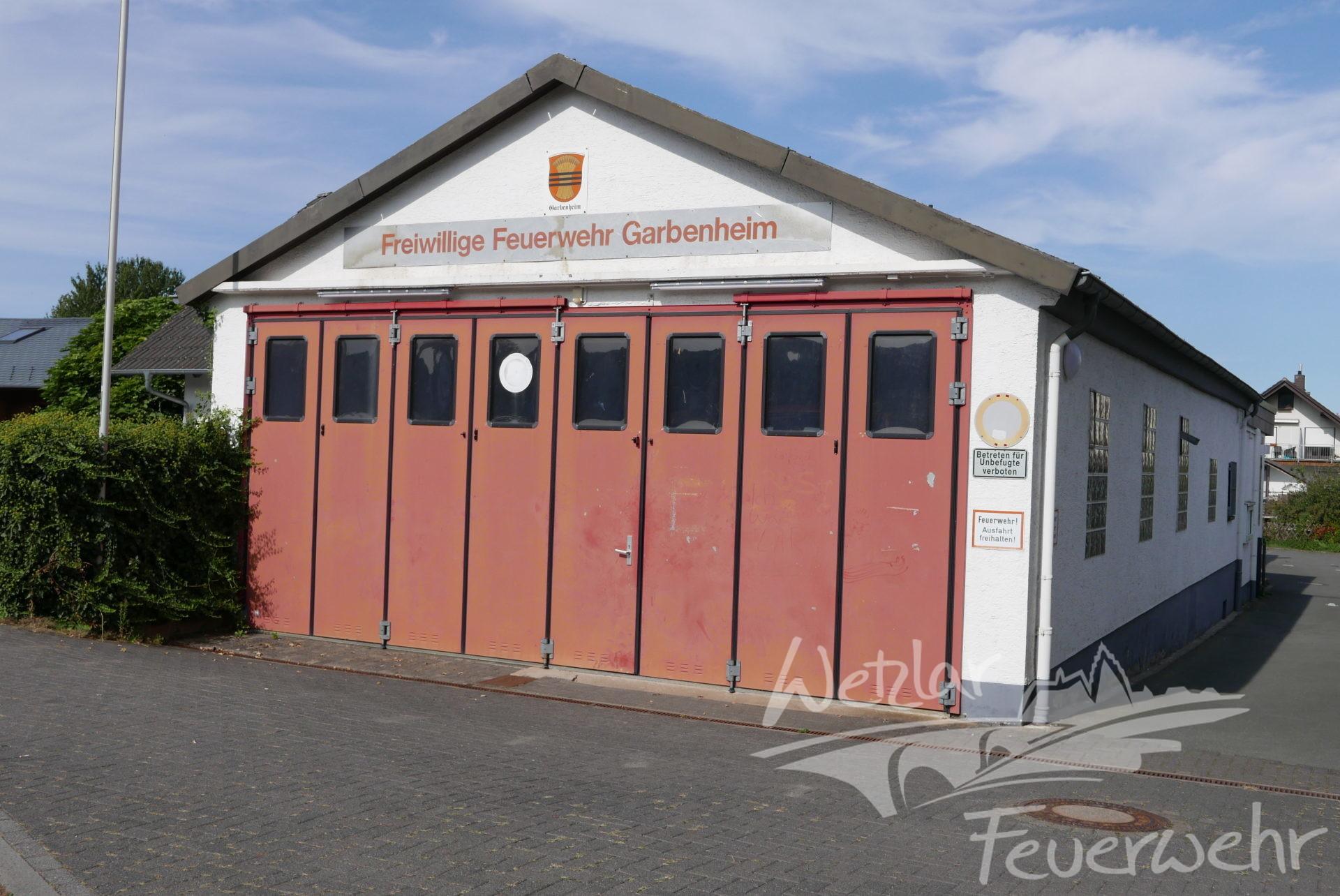 Das Gerätehaus der Feuerwehr in Garbenheim