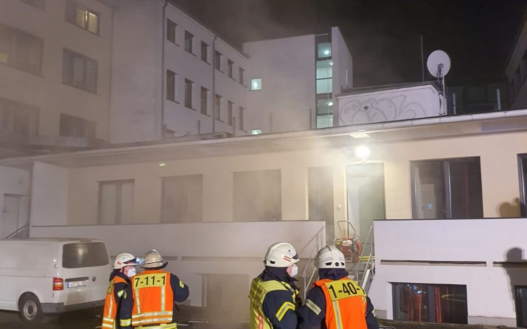 Zimmerbrand in der Seibertstraße