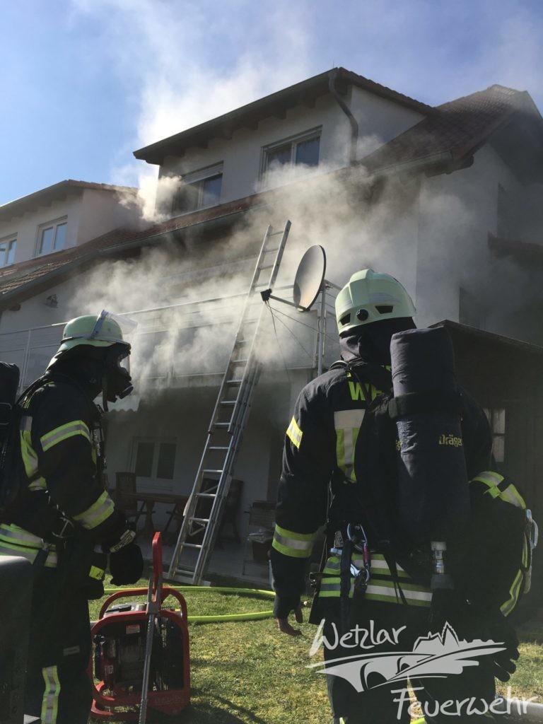 Wohnungsbrand in Nauborn