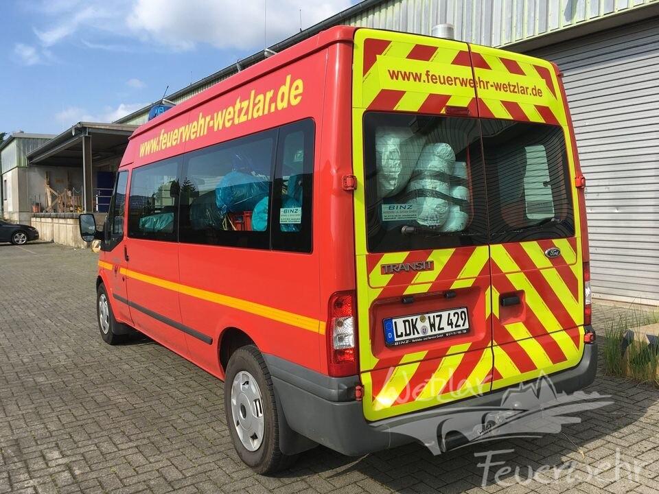 Feuerwehr Wetzlar beteiligt sich an Spendenaktion für die Hochwasseropfer