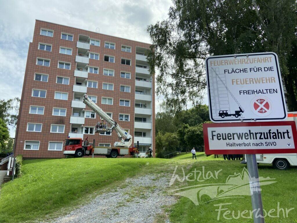 2 Menschen in Büblingshausen gerettet