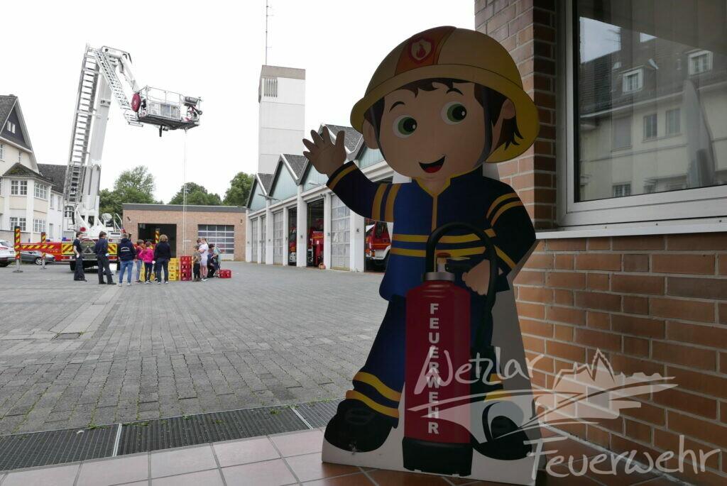 Ferienpassaktion der Wetzlarer Feuerwehr