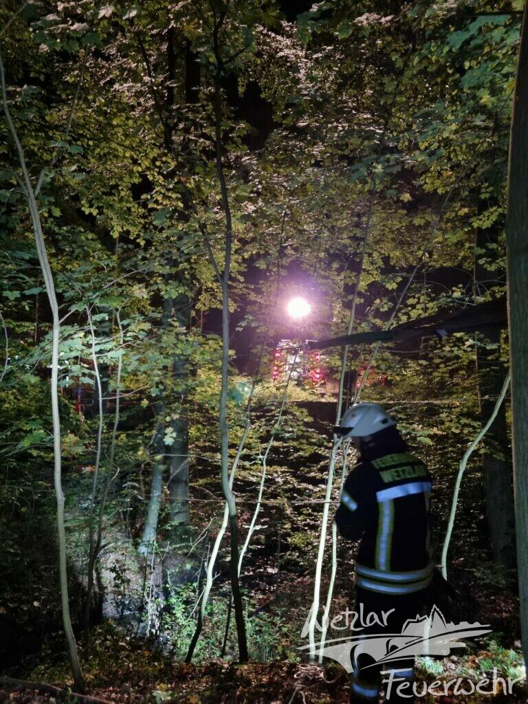 Erneut Übung zur Personenrettung in Büblingshausen