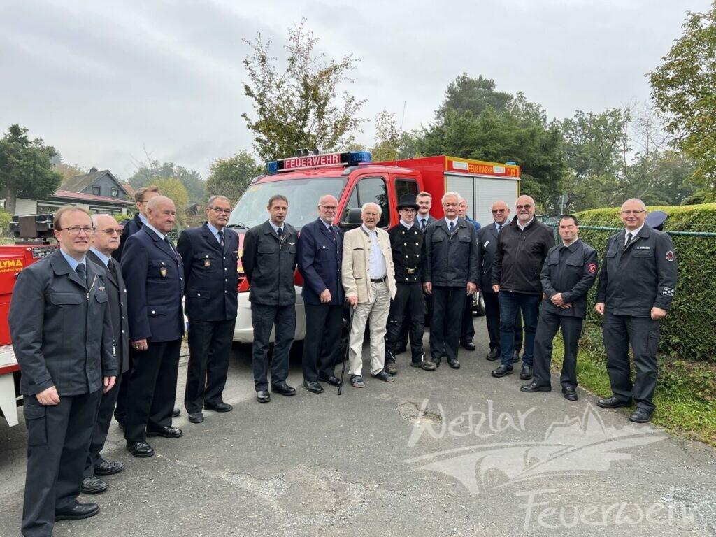 Wetzlars Ehrenstadtbrandinspektor feiert seinen 90. Geburtstag